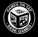 SaskGames Logos - Games On Tap